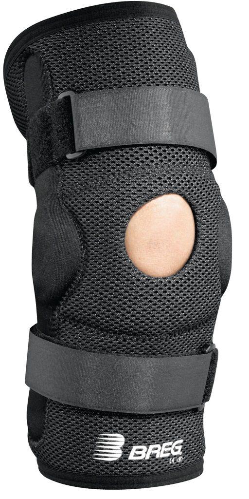 De Economy Hinged #Kniebrace kan worden gebruikt bij milde klachten van de kniebanden. Twee  gescharnierde kunststof stabilisatoren geven de knie extra steun, zodoende worden de aangedane kniebanden ontlast. De banden rondom de brace zorgen ervoor dat deze niet afzakt tijdens (sport)activiteiten. De kniebrace is gemaakt van #Airmesh en is daarom hypoallergeen en goed ademend.
