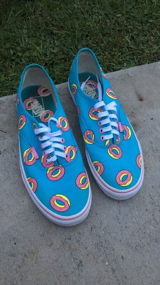 d47cbcbf71 Vans x Odd Future Sk8-Hi Donut Blue Size Men 10.5 Worn once Shoes  fashion   clothing  shoes  accessories  mensshoes  athleticshoes (ebay link)