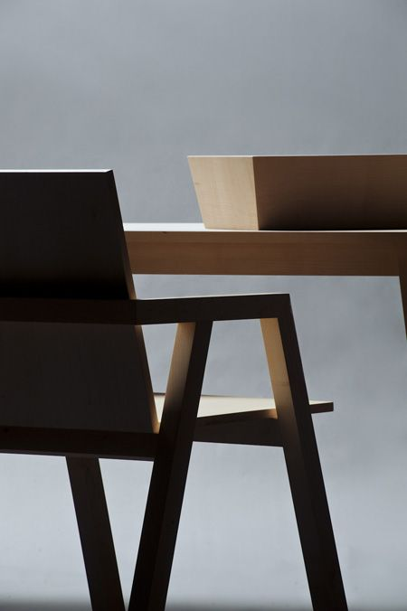 chair + table - anon