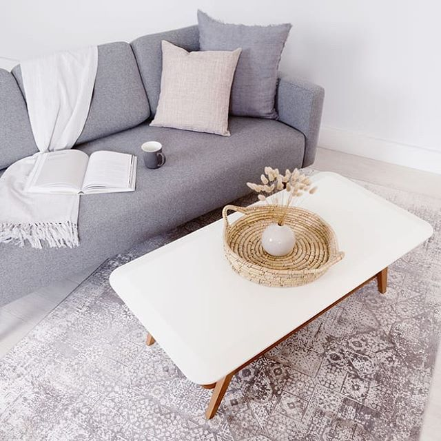 Love This Little Living Room Nook Get The Look For Less When You Shop Our Gabe Sofa And Liana Coffee Table This Black Coffee Table Living Room Nook Furniture