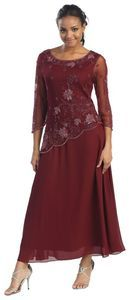 Mother of the Bride Formal Evening Dress #5454