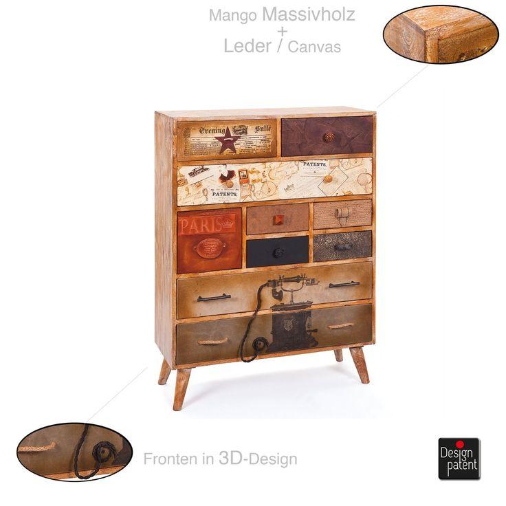 kommode vintage bunt 80 innenr ume und m bel ideen. Black Bedroom Furniture Sets. Home Design Ideas