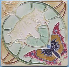 Art Nouveau Azulejo belga.
