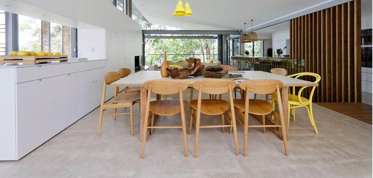 Concrete By Design » Avoca Beach House