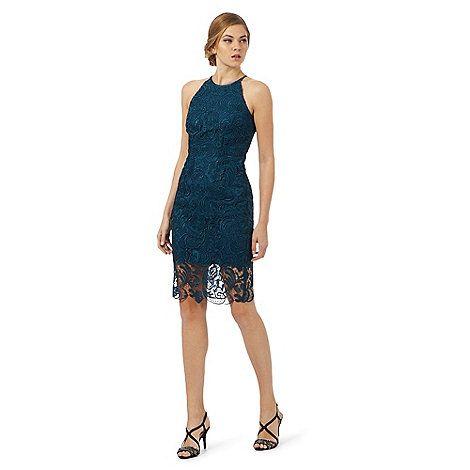 Debut Green lace dress | Debenhams
