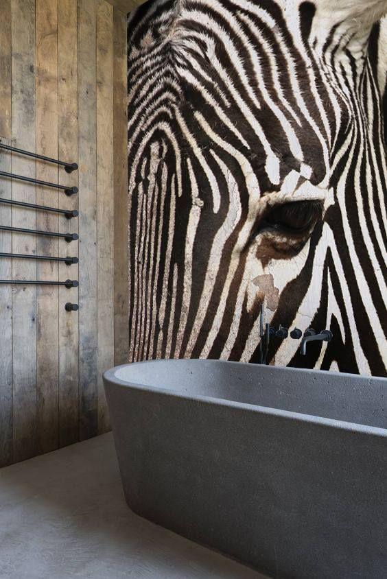 49 best Carta da parati bagno images on Pinterest   Bathroom ...