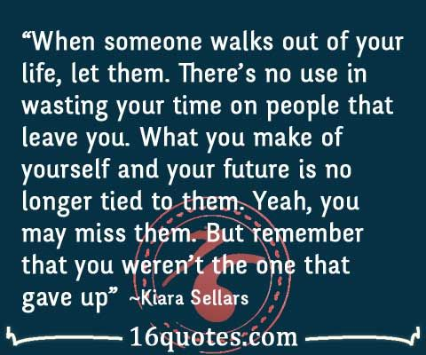 when people leave your life | Quotes About People Leaving Your Life People that leave you quote