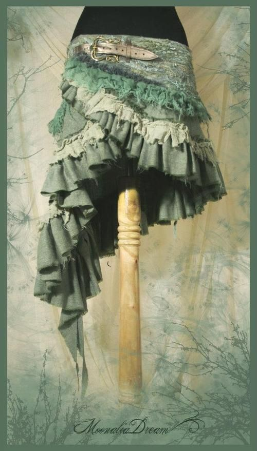 Gypsy skirt...I'd totally wear this!!