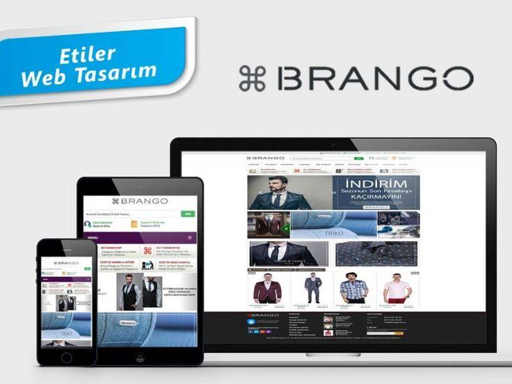 Türkiye'de Erkek Giyim ve Gömlek Sektöründe lider bir marka olan Brango adlı firmanın tüm kurumsal çalışmaları ve Web sitesi, Etiler Web Tasarım tarafından yapılmıştır.