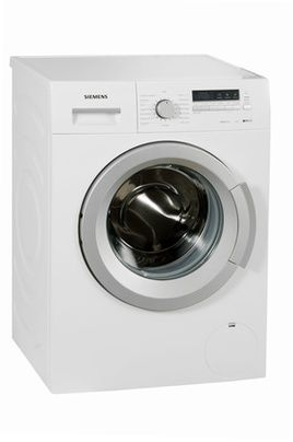 lave linge hublot siemens ws12k262ff blanc prof 45 cm. Black Bedroom Furniture Sets. Home Design Ideas