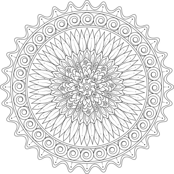 Colouring Pages For Emotions 232 Best Images About Mandalas On Pinterest Template Coloring