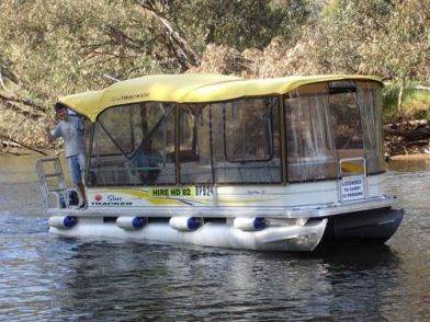 Why not hire a #PontoonBoat so the whole family can sit back, relax & soak up the natural wonders of the #PeelRegion.