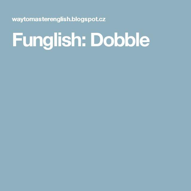 Funglish: Dobble