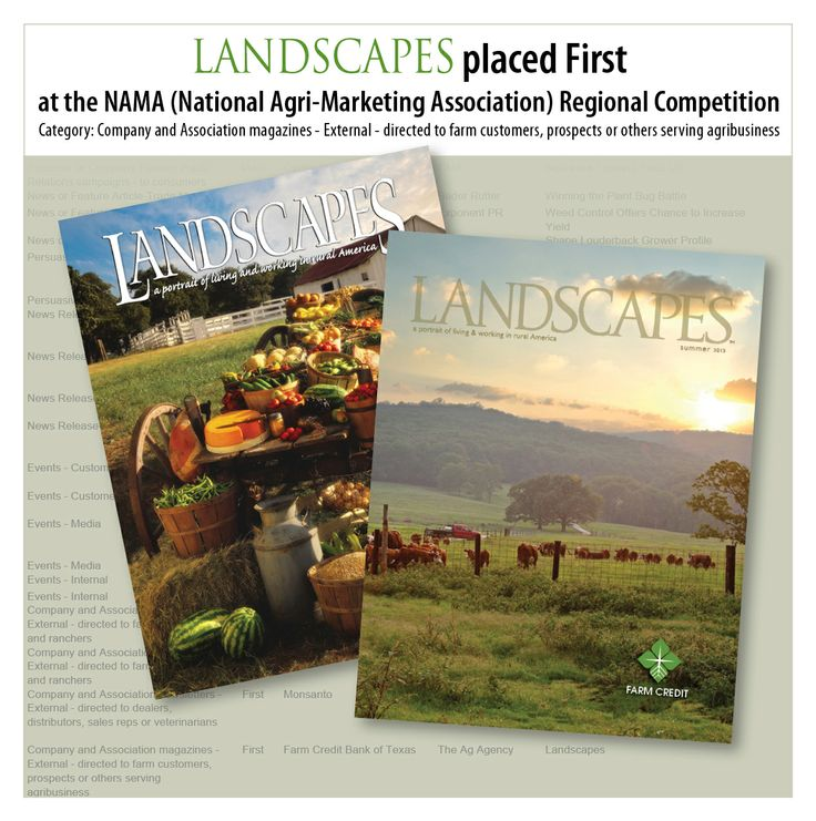 Congrats to all of the Farm Credit staff across our five states who helped  make Landscapes