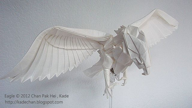 War Related Bird Claw Quote: Origami Bird, Wing Inspiration?