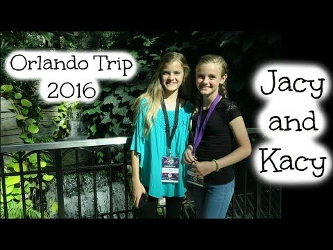 Our Weekend in Orlando during Playlist Live 2016 ~ Jacy and Kacy - YouTube