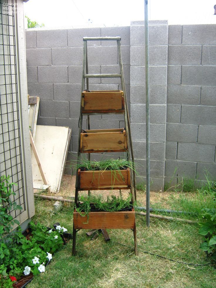 80 Best Diy Things To Make From Old Ladders Images On 400 x 300