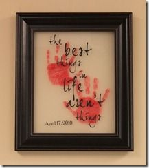 Handprint projectHands Prints, Gift Ideas, Diy Gift, Cute Ideas, Handprint Art, Mother Day Gifts, Life Arenal T, Hand Prints, Arenal T Things