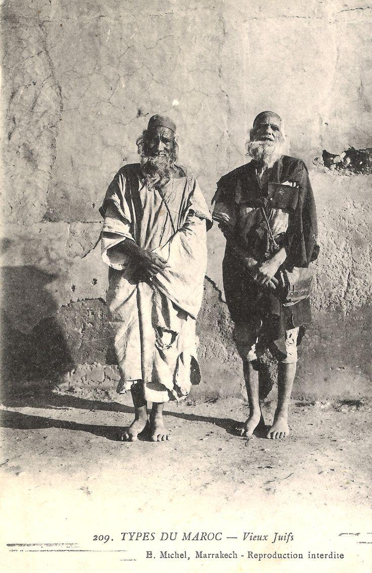 Maroc - vieux juifs