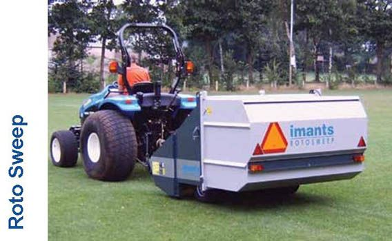 The RotoSweep offers efficient removal of surface debris from sports turf, including cores, grass clippings, leaves and general litter collection. The RotoSweep features a dual powered brush system, meaning even heavy debris can be collected without any damage to the grass. The centrally positioned axles allow tight contours to be followed The RotoSweep is tractor towed, powered from the PTO and tipped hydraulically. The large 2.5m³ hopper means fast and efficient collection.