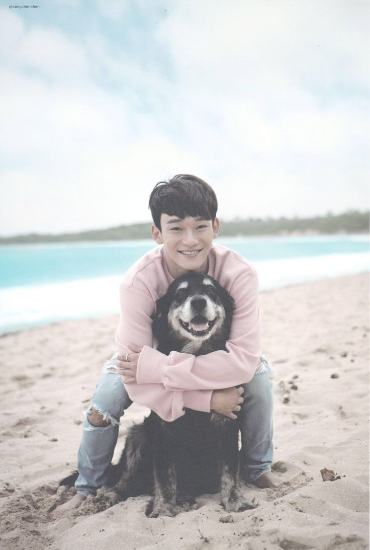 SCAN #Chen #EXO Dear Happiness #Photobook Soo cute ❤️