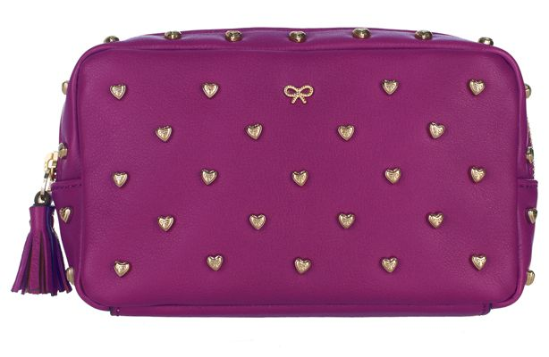 Keep your beauty kit under wraps in style with a chic designer cosmetic bag