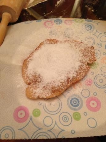 Elephant Ears! This is the best fried dough recipe I've ever found! It's easy, and it tastes just like the real thing! 