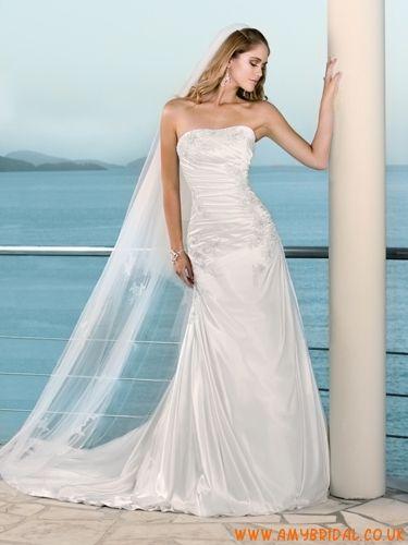 118 best Organza wedding dress images on Pinterest | Short wedding ...
