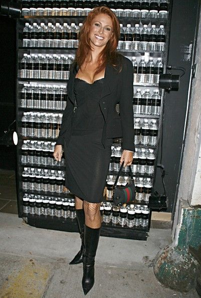 Angie Everhart Photos - Angie Everhart Arrives at LAX - Zimbio