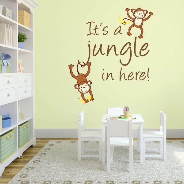 76 best Animal Wall Decals images on Pinterest | Animal wall decals ...