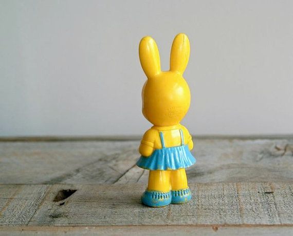 Vintage Rabbit Rattle - 5gardenias on etsy