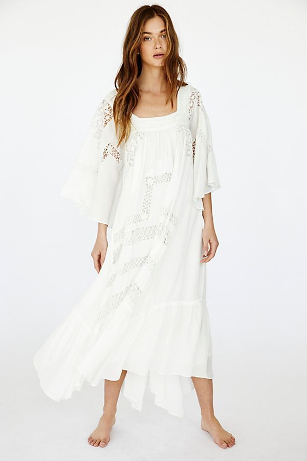 561de35561c10 Gemma Limited Edition White Dress in 2019 | Free People | White ...