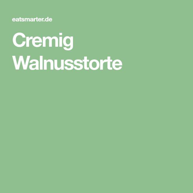 Cremig Walnusstorte