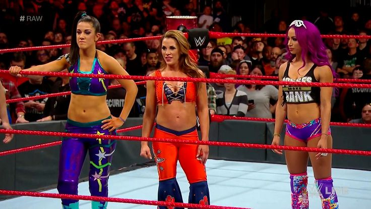 Bayley, Mickie James & Sasha Banks