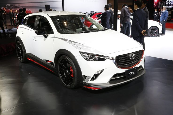 Mazda CX3 Racing Concept Tokyo Auto Salon 2015 Mazda