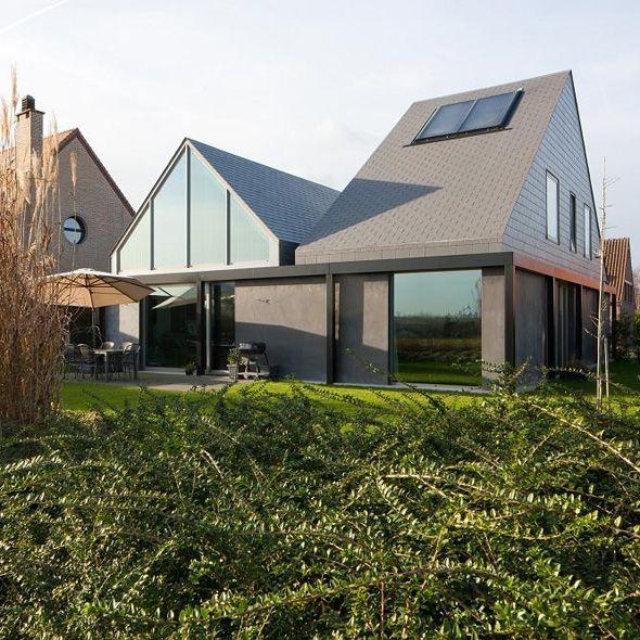 9 best slate shingles images on Pinterest Contemporary - orientation maison sur terrain
