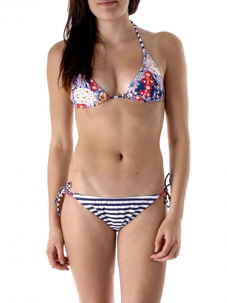 The itsy bitsy string bikinis is a staple piece for any beach-goer, and the reigning classic of the modern swimsuit fashion era. On the ZAFUL online shop, numerous string bikini tops and bikini bottom are available in multiple styles and patterns.