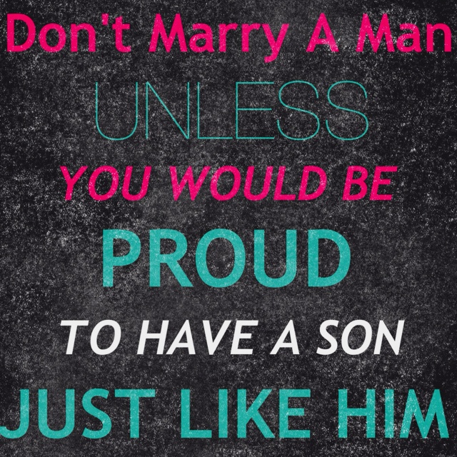 Good point: Good Thoughts, Girls, My Sons, My Husband, So True, Father And Sons, Weights Loss, Love My Boys, Mothers Advice Quotes