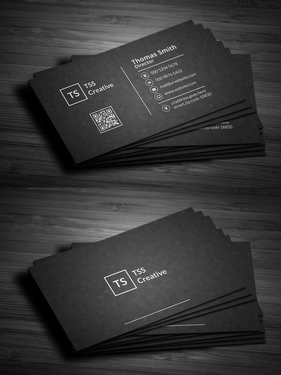 Modern Dark Pixels Business Cards Elegant Business Cards Create Business Cards Visiting Card Design
