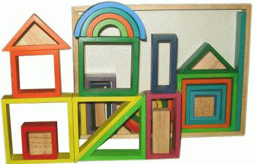 Qtoys Rainbow Blocks