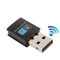 Geek | 1 1 300Mbps Wireless Network Card Mini USB Router Wifi Receiver For PC Laptop Computer