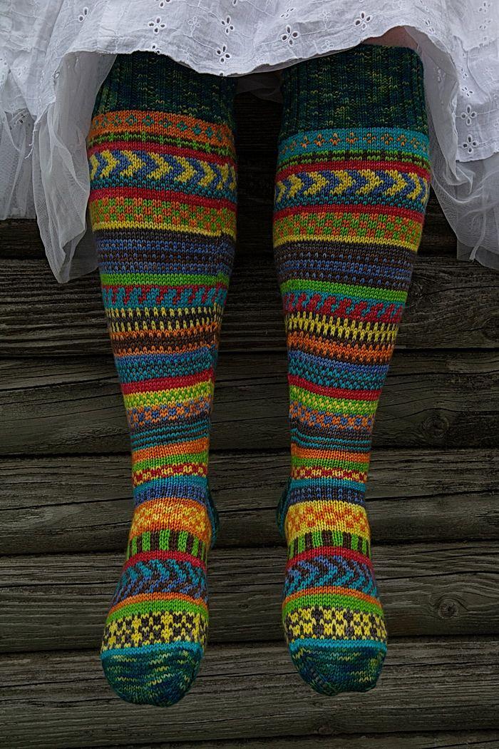 164 besten Socken stricken Bilder auf Pinterest | Häkeln, kostenlose ...