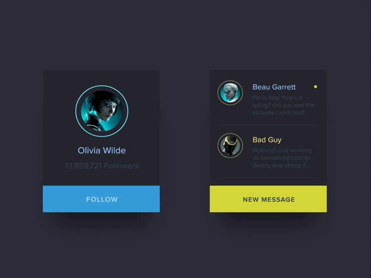Animated UI Stuff / Floating Buttons by Ehsan Rahimi on #dribbble #ui #animation #gif #design