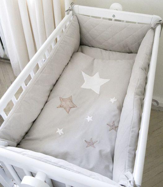 Wiegen - Sterne - Nestchen für Wiege - ein Designerstück von muzponyde bei DaWanda