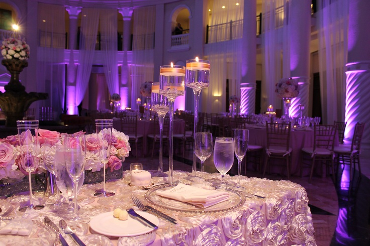 Westin Colonnade in Coral Gables. Absolutely beautiful, elegant and romantic for a wedding.  photo by:  www.photoboothforgood.com