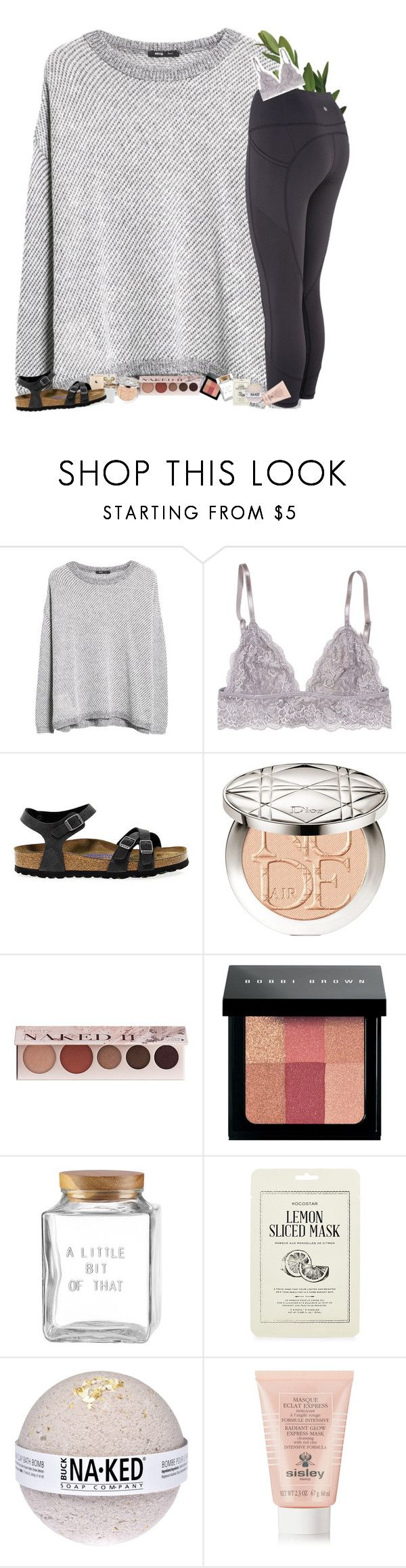 """I'd climb a mountain for you.."" by mac-moses ❤ liked on Polyvore featuring MANGO, Birkenstock, Christian Dior, 100% Pure, Bobbi Brown Cosmetics, Kate Spade, Kocostar and Sisley"