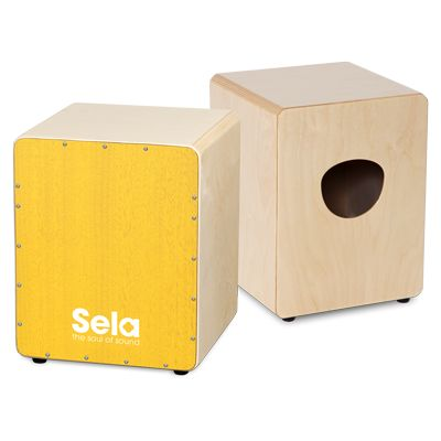 The Sela Varios Mini is perfect for small cajon players. If offers the typical Sela Cajon quality and sound!