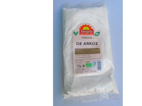 500 gr BioGRA Harina de ARROZ