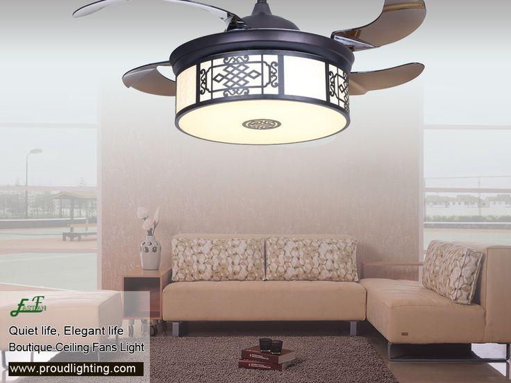 Kitchen lighting · retractable ceiling fans light