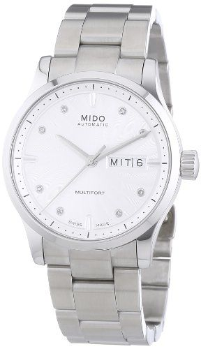 Mido Damenuhr-Automatik Multifort Diam. Ø 38mm M0058301103602 - http://uhr.haus/mido/mido-damenuhr-automatik-multifort-diam-38mm